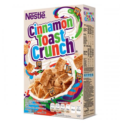 Cinnamon Toast Crunch Cereal 340gr