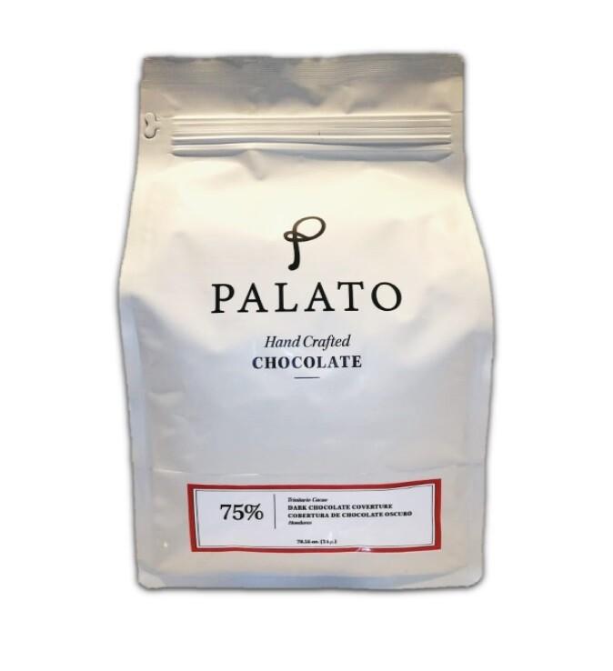 Cobertura 75% Chocolate Oscuro 2 kilos (PALATO)