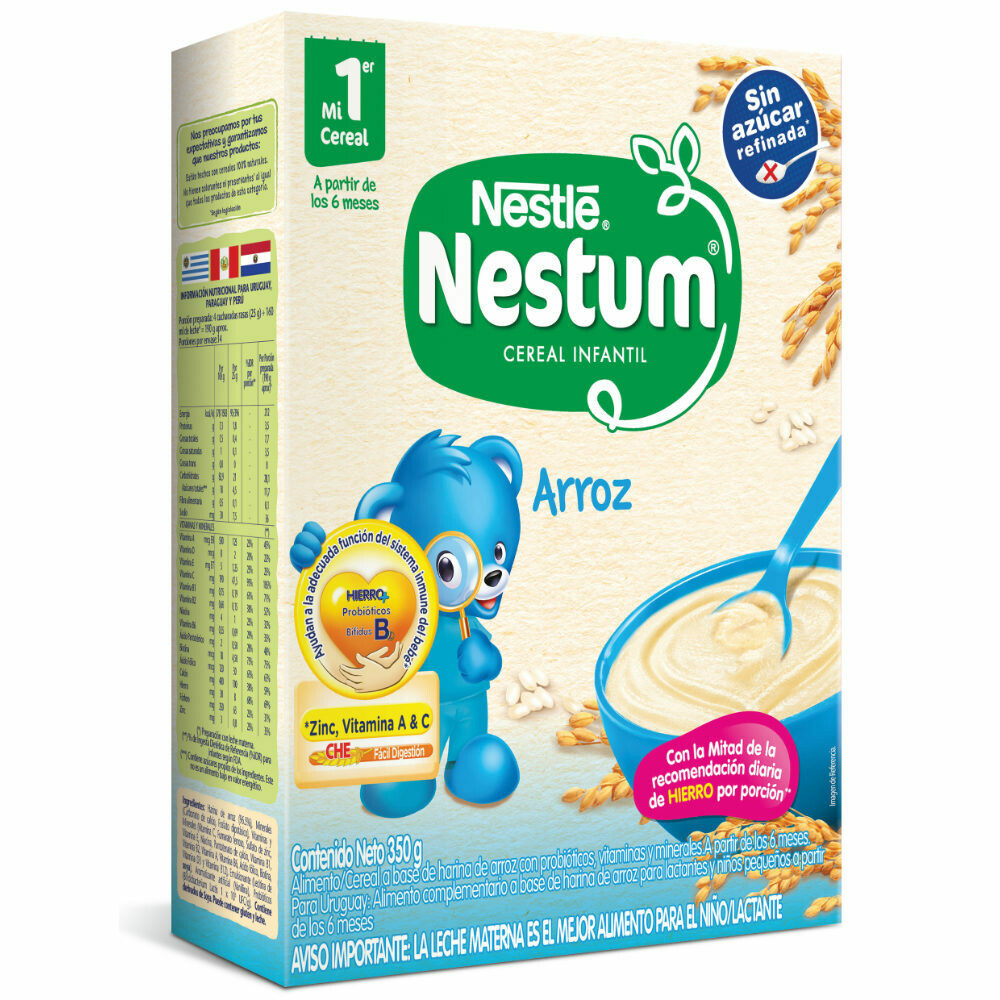 Cereal Nestum Arroz 200gr