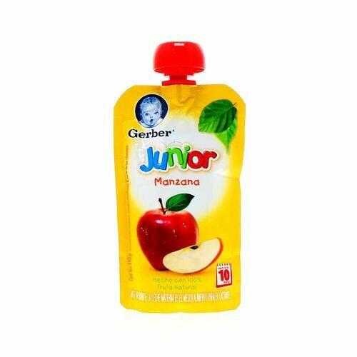 Pure Gerber Etapa Junior Manzana Bolsa 110gr pouch