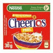 Cubito Cheerios Miel Cereal 30gr