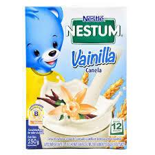 Cereal Nestum Probioticos Vainilla Canela 250gr