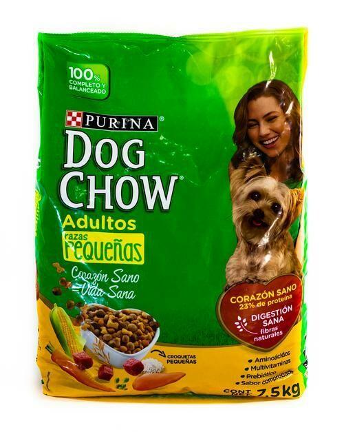 Dog Chow Adulto Raza Pequeña 7.5kg (16.5lb)