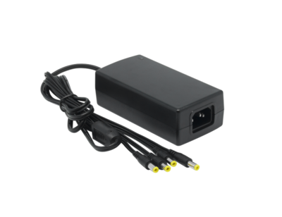 12V 5A Power Supply with 4 splitter