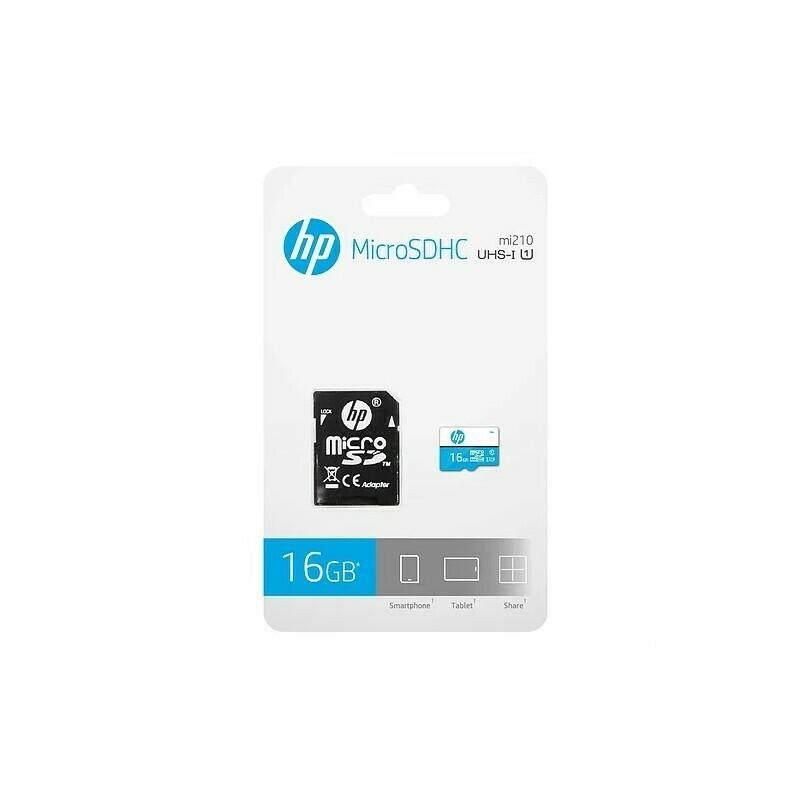 Micro SD Clase 10 HP U1-16GB