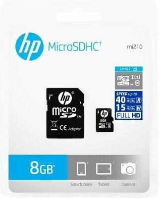 Micro SD Clase 10 HP U1-8GB