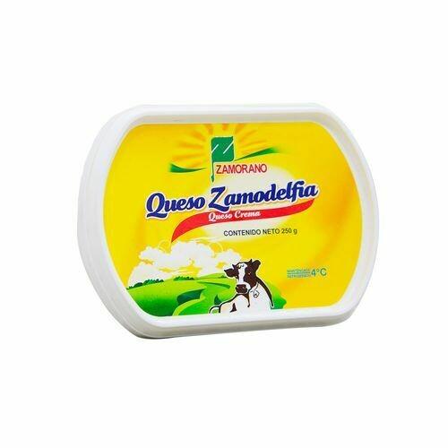 Queso Crema Zamodelfia El Zamorano 250gr