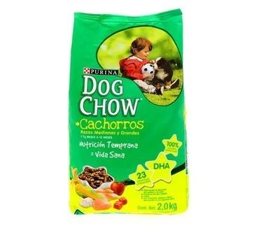 Dog Chow Cachorro Raza Med & Gr 2kg (4.4lb)