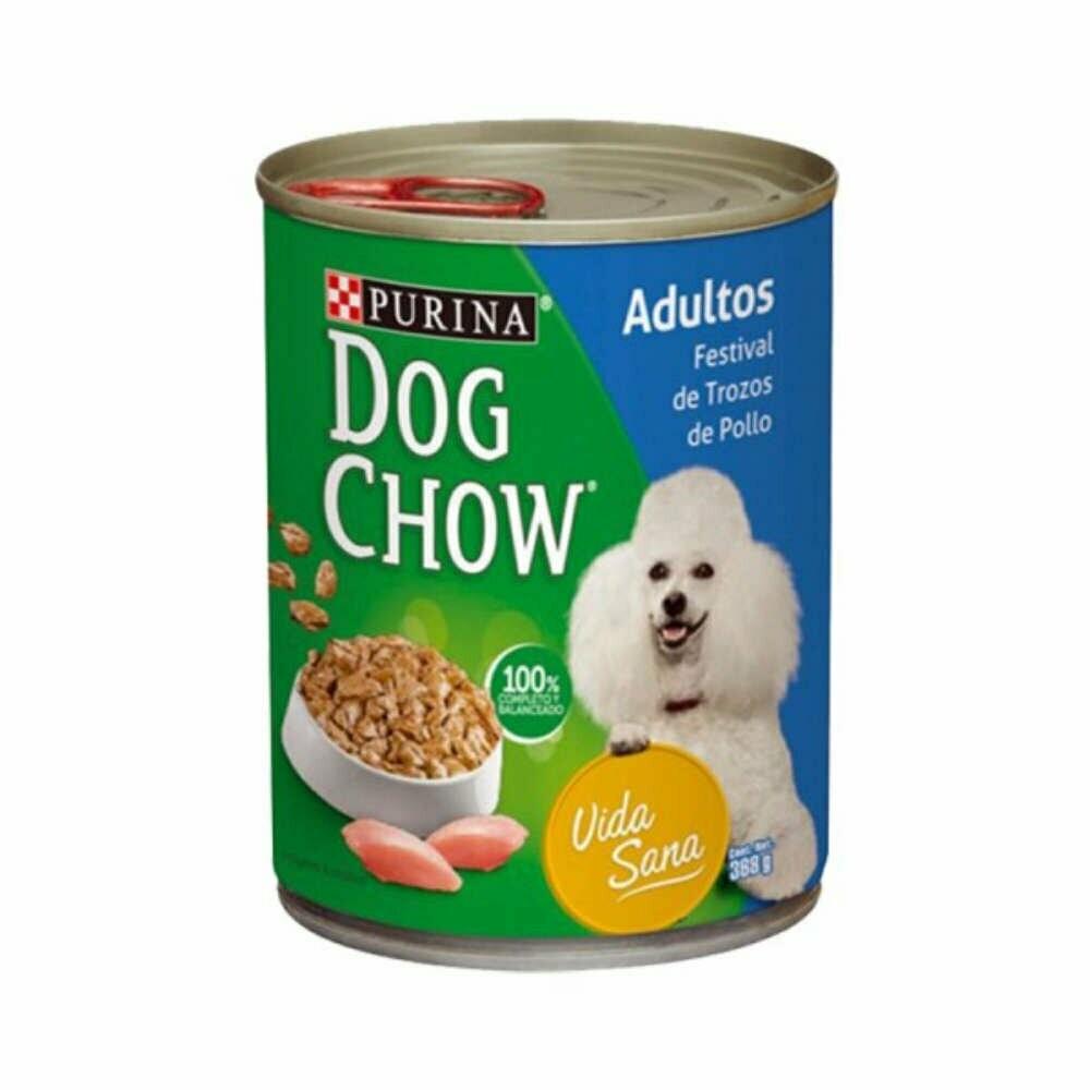 Dog Chow Festival Trozos Pollo 369g (13oz)