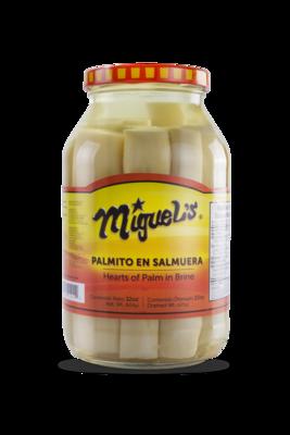 Palmito Miguel's en Salmuera 32oz