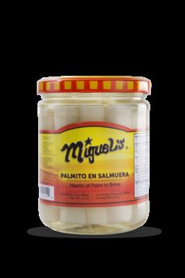 Palmito Miguel's en Salmuera 16oz