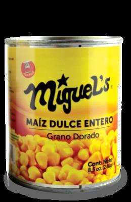 Maiz Dulce Entero Miguel's 8.5oz (241gr)