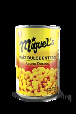 Maiz Dulce Entero Miguel's 15.25oz (425gr)