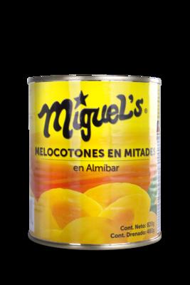 Melocotones Miguel's en Mitades 820gr