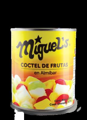 Coctel de Frutas en Almibar Miguel's 850gr