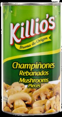 Champiñones Rebanados Killio's 400gr