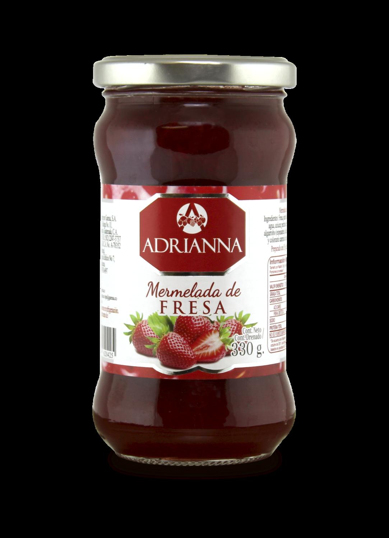 Mermelada de Fresa Adrianna 330gr