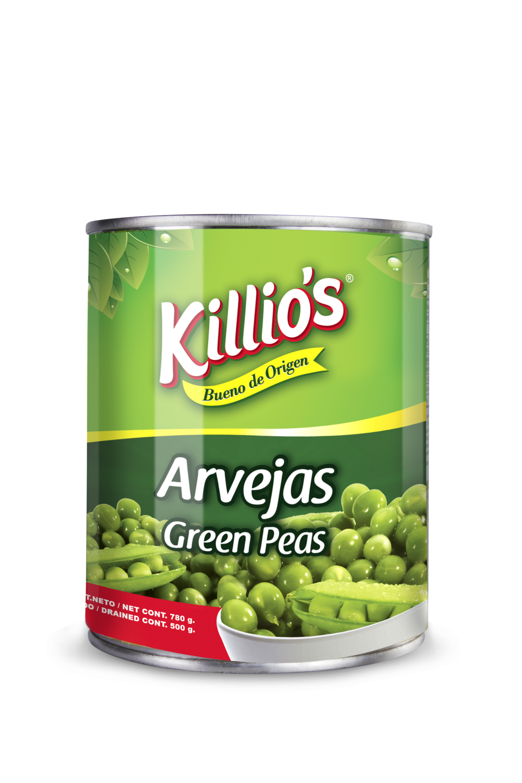 Arvejas Killio's 780gr