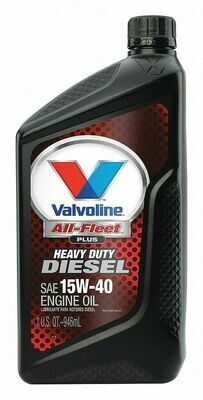 Aceite Valvoline All-Fleet + E700 15W40, Cuarto, 946ml