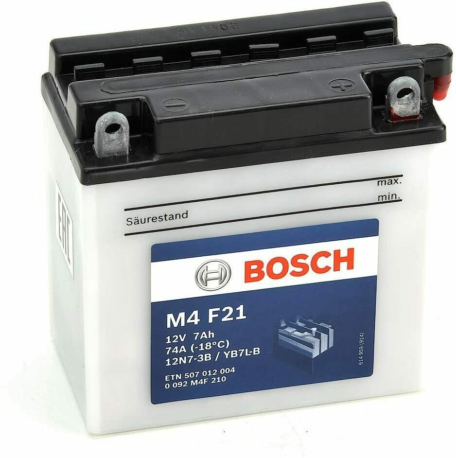 Bateria de Moto M4  12V 5AH 70CCA  12N7-3B