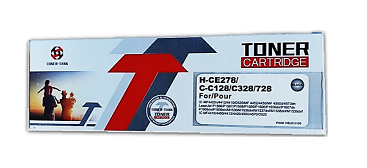 Toner Cartridge H-CE278/C-C128/C328/728 Negro
