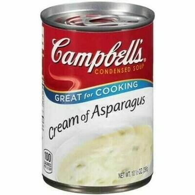 Crema Campbell's Esparragos 10.7oz