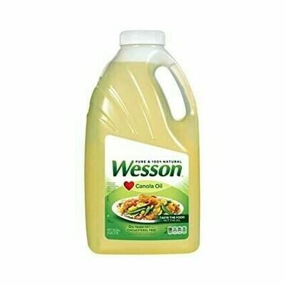 Aceite Wesson Canola 1 Galon