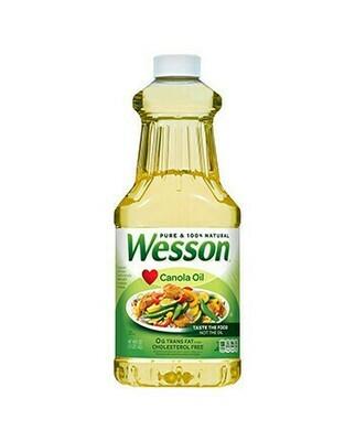 Aceite Wesson Vegetal 48oz