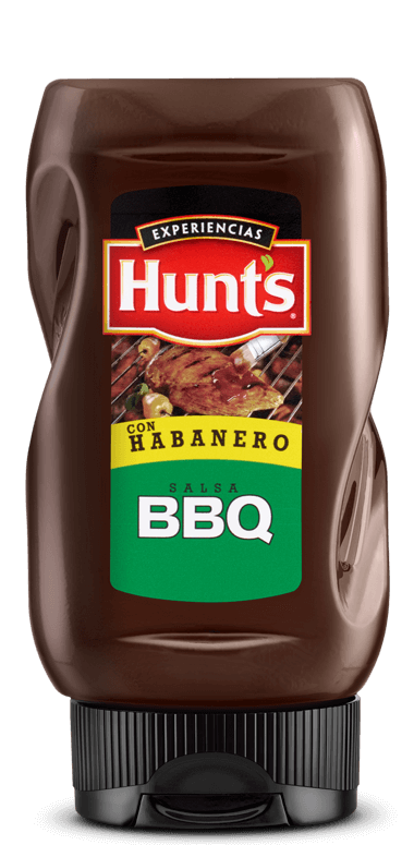 Salsa Barbacoa Hunt's Habanero 24/350g