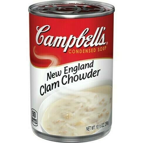 Sopa Campbell's Clam Chowder (Almejas) 10.7oz