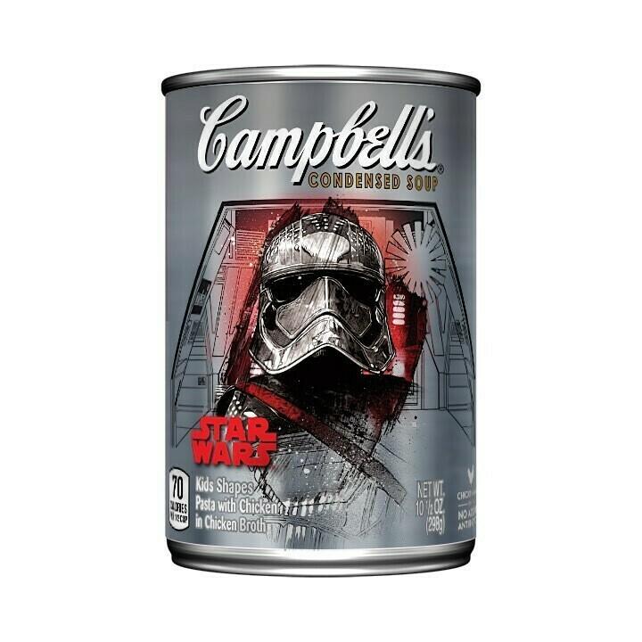 Sopa Campbell's de Pollo Figuras Star Wars 10.7oz