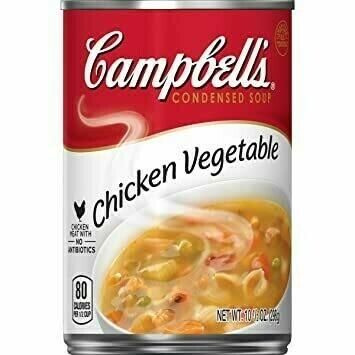Sopa Campbell's de Pollo y Vegetales 10.7oz