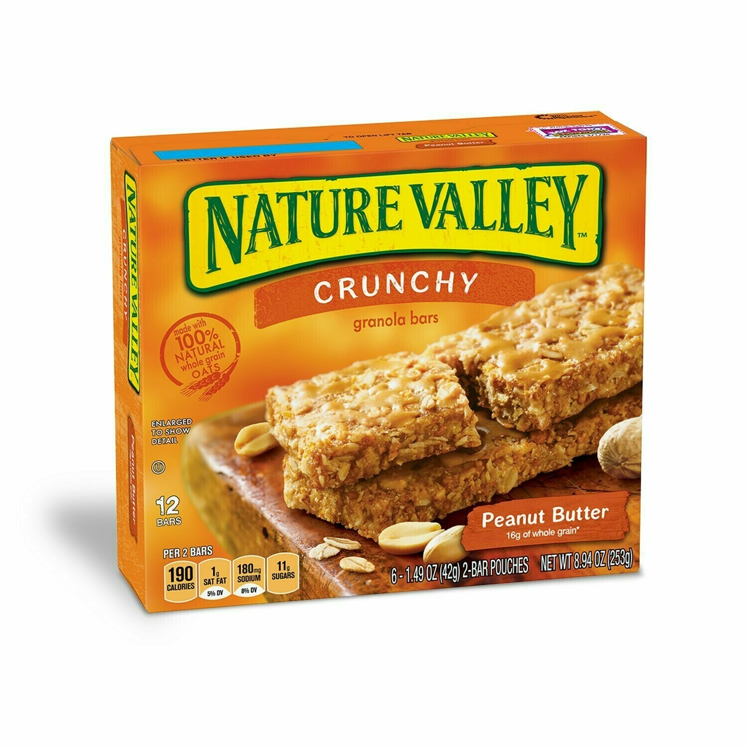 Granola Nature Valley Bars Roasted Almond 8.9oz