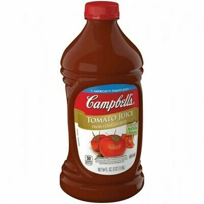 Jugo de Tomate Campbell's 64oz