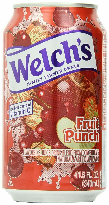 Refresco Welch's Ponche de Frutas  11.5oz