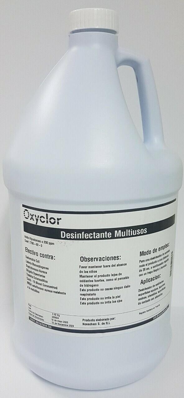 Desinfectante Oxyclor Multiusos 3.82 kg