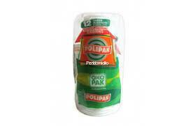 Vaso Polipak Oxo Biodegradable #5 24 unidades