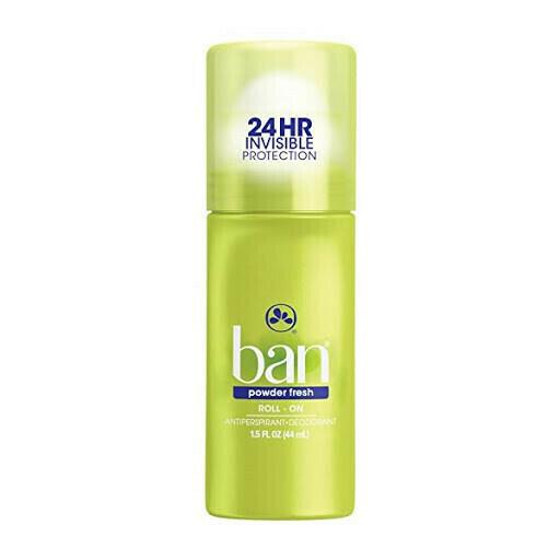 Desodorante Ban Roll-On Powder Fresh 1.5oz