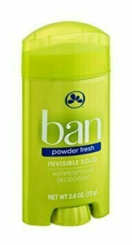 Desodorante Ban Barra Invisible Powder Fresh 2.6oz