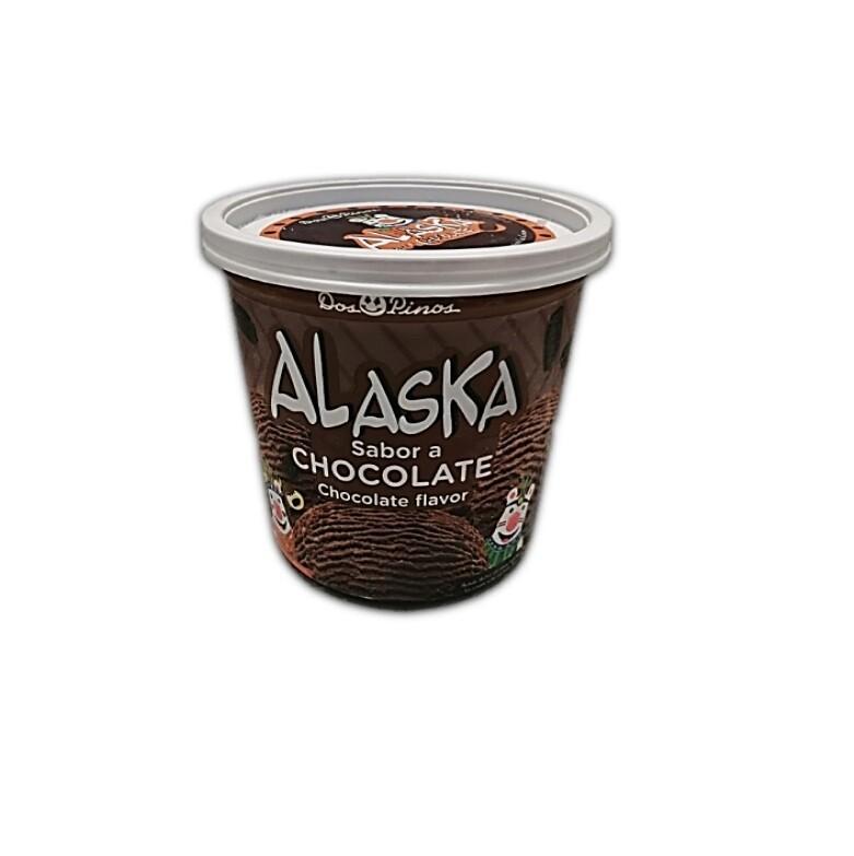 Helado Alaska Chocolate 1/4 Galon
