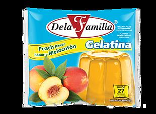 Gelatina Sabor Melocoton De La Familia 450gr