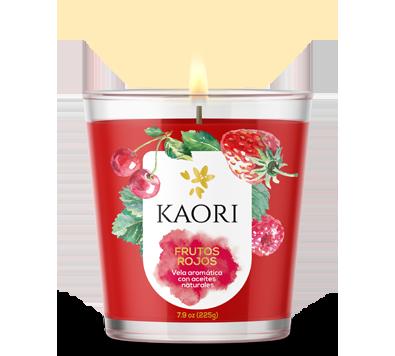Kaori Vela Frutos Rojos 140g