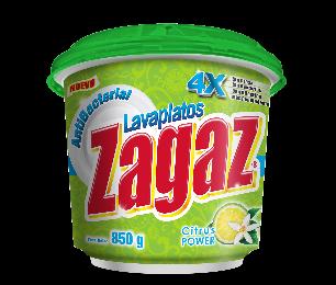 Lavaplatos Antibacterial Zagaz Citrus 425g