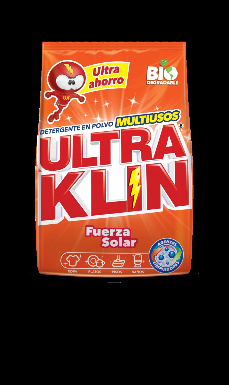 Detergente en Polvo Ultra Klin Fuerza Solar 2kg