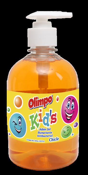 Jabon Liquido Antibacterial Olimpo Kids Chicle 500ml