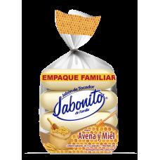 Jabon de Tocador Jabonito Avena & Miel 4pack 280gr