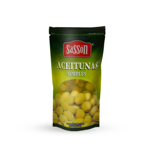 Aceituna Simple Sasson 100gr