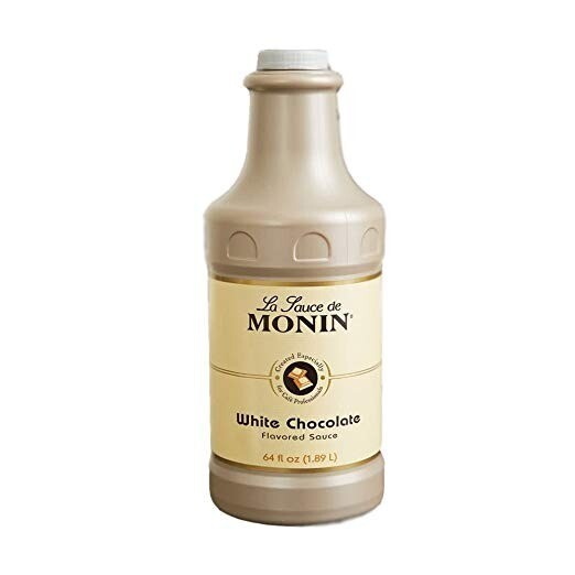 Salsa Monin Chocolate Blanco 64 oz