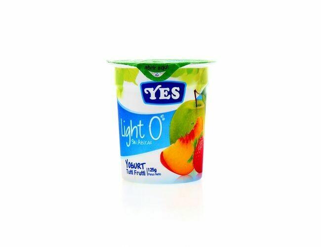 Yogurt YES Tuti Fruti Light 125 gr