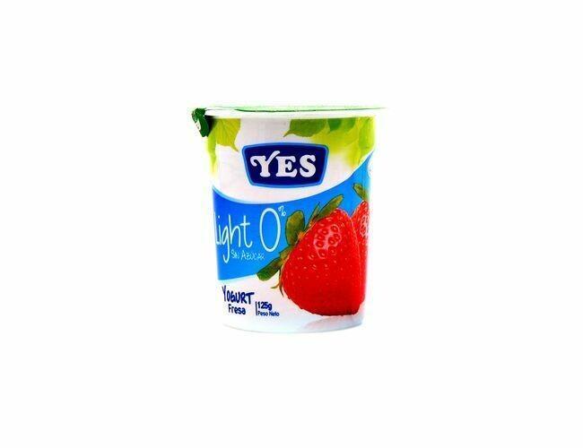 Yogurt YES Fresa Light 125 gr